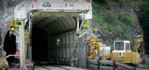 Tunnel Enlargement Gantry TEP 8400